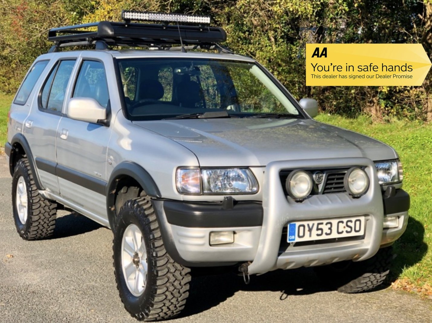 2003 Vauxhall Frontera Limited 3.2 V6 Manual - 49,000 miles! For Sale (picture 1 of 6)