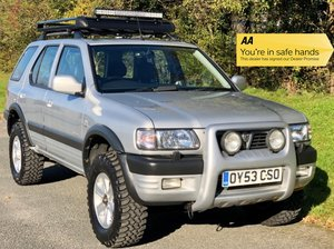 Vauxhall Frontera Limited 3.2 V6 Manual - 49,000 miles!