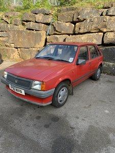 1989 Vauxhall nova 5 door hatch 1.3 30k miles