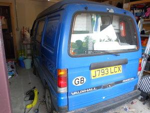 1992 Vauxhall Rascal Camper