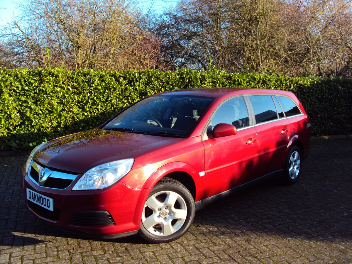 WOW! 2007 Vauxhall Vectra Estate 1.8i **NOW SOLD** For Sale (picture 1 of 6)