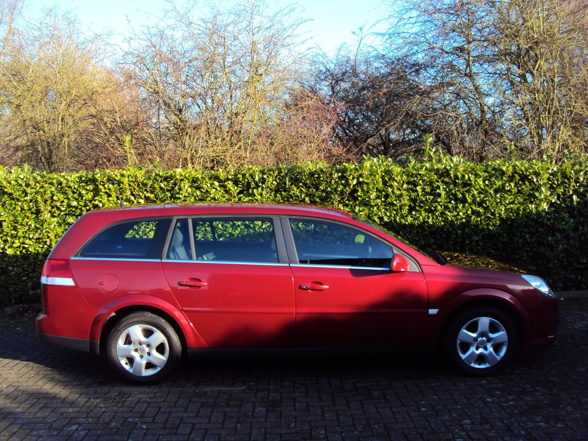 WOW! 2007 Vauxhall Vectra Estate 1.8i **NOW SOLD** For Sale (picture 2 of 6)