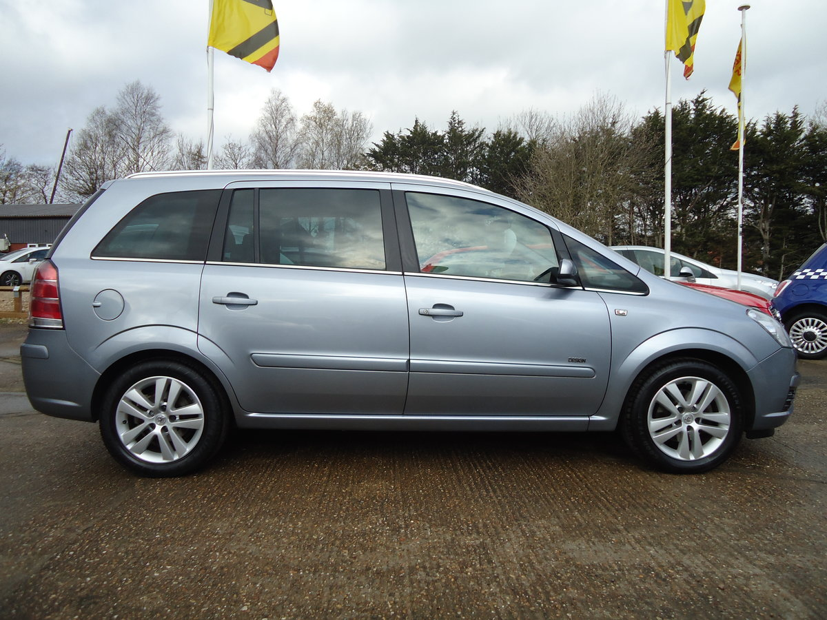 2007 ONE OWNER ZAFIRA / SEVEN SEATS / SENSIBLE MILEAGE For Sale (picture 5 of 6)