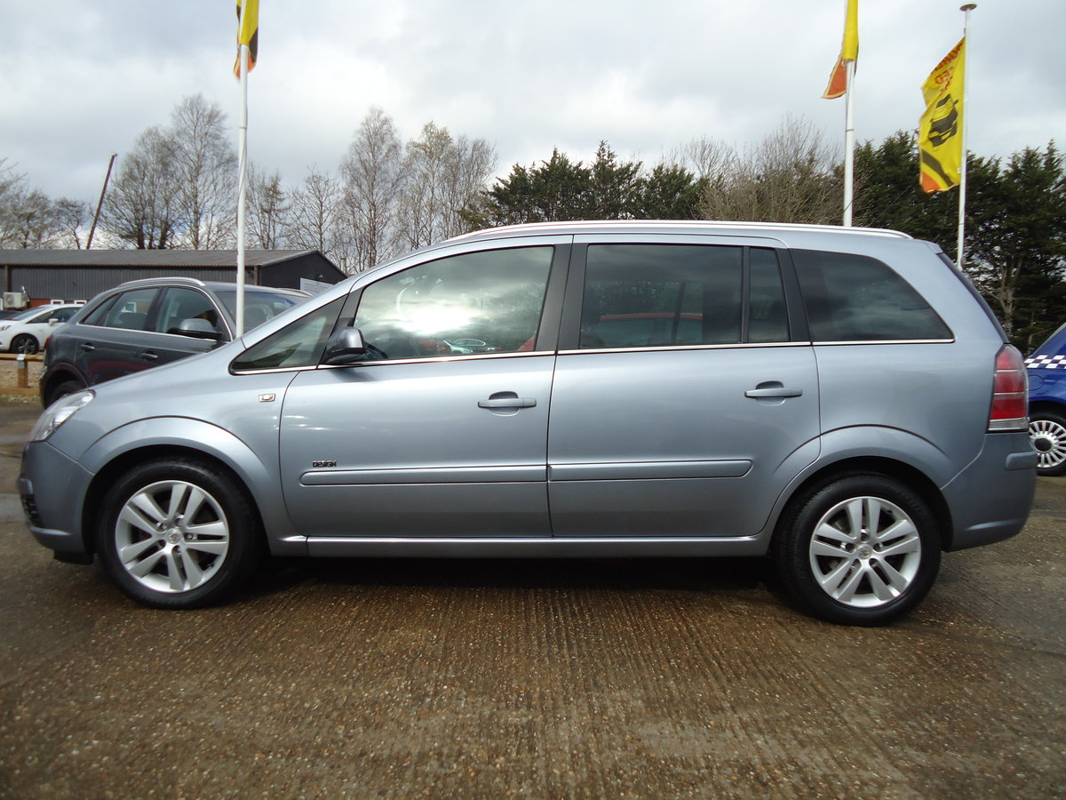 2007 ONE OWNER ZAFIRA / SEVEN SEATS / SENSIBLE MILEAGE For Sale (picture 6 of 6)