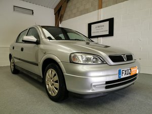 2002 Vauxhall Astra Club 1.6 AUTOMATIC