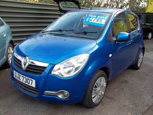 2013 Vauxhall Agila 1.0S Ecoflex For Sale
