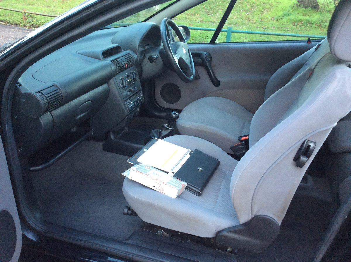 2000 Vauxhall Tigra 1.4 mk1. For Sale (picture 5 of 6)