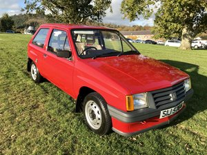 1983 Vauxhall Nova 1.0 For Sale