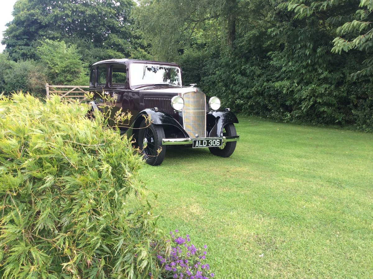 1933 Vauxhall 12/6 ASY STD Saloon For Sale (picture 1 of 6)