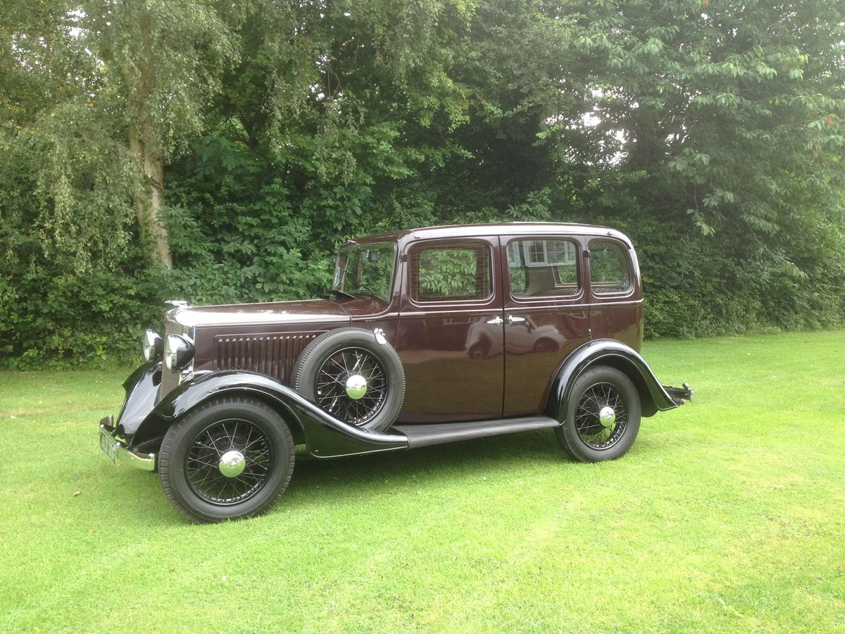 1933 Vauxhall 12/6 ASY STD Saloon For Sale (picture 2 of 6)