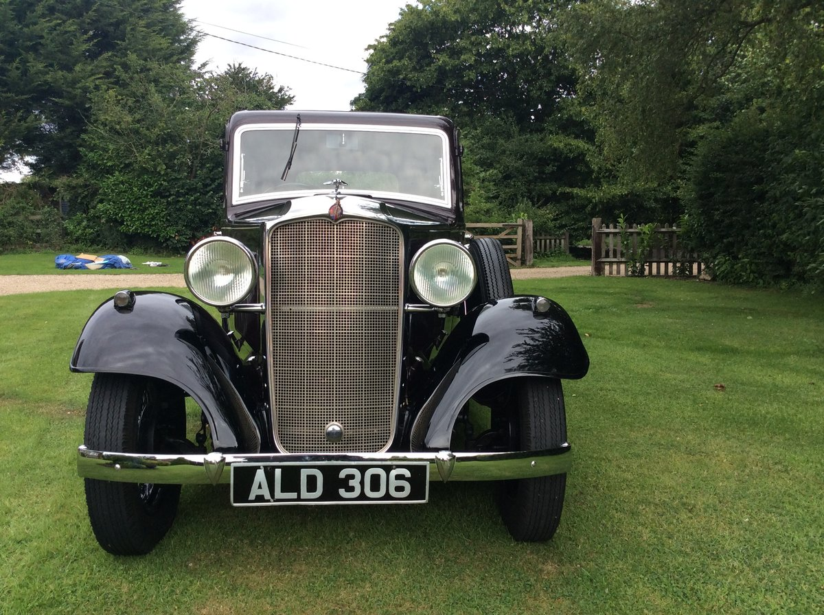 1933 Vauxhall 12/6 ASY STD Saloon For Sale (picture 3 of 6)