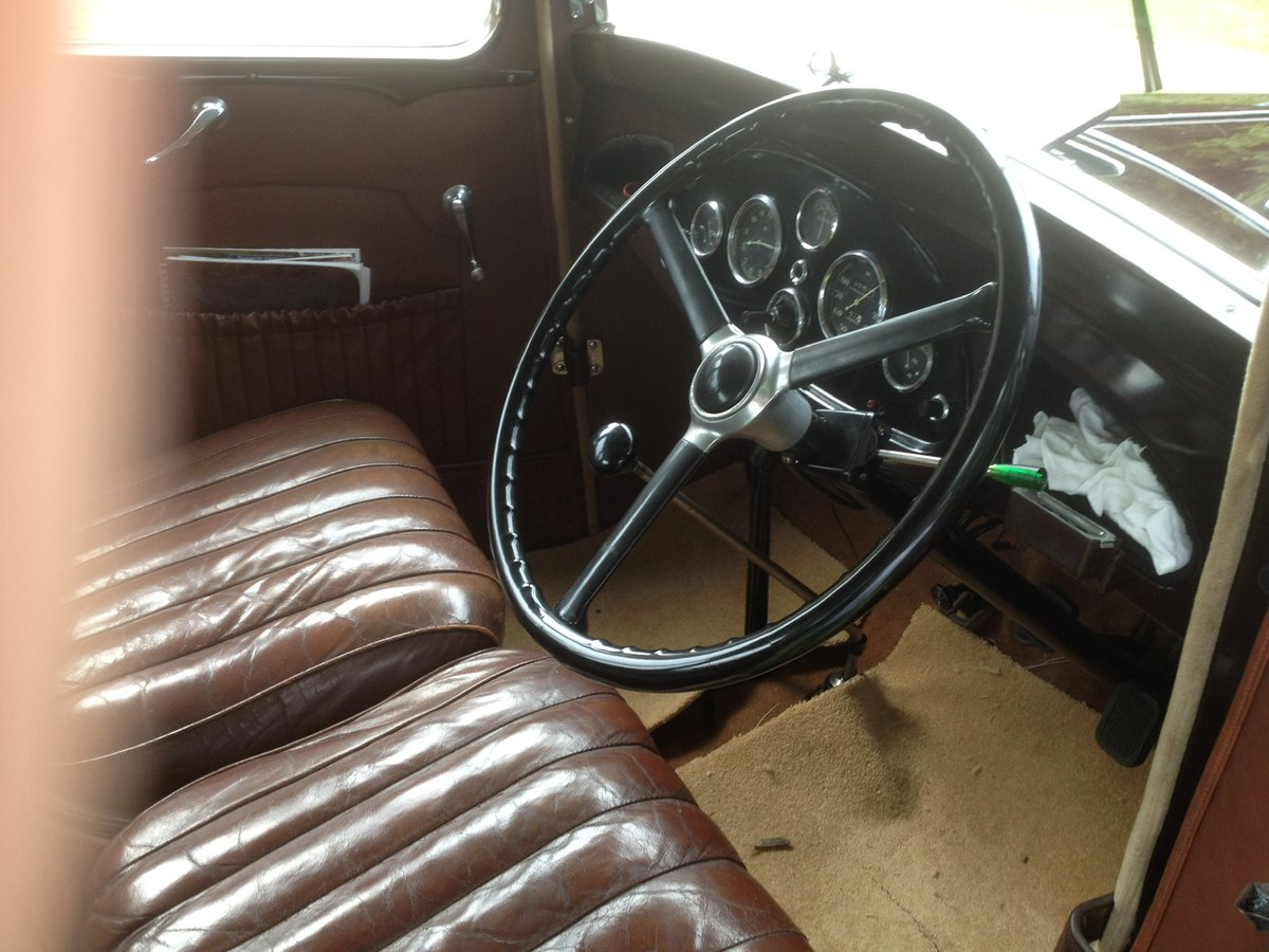 1933 Vauxhall 12/6 ASY STD Saloon For Sale (picture 5 of 6)