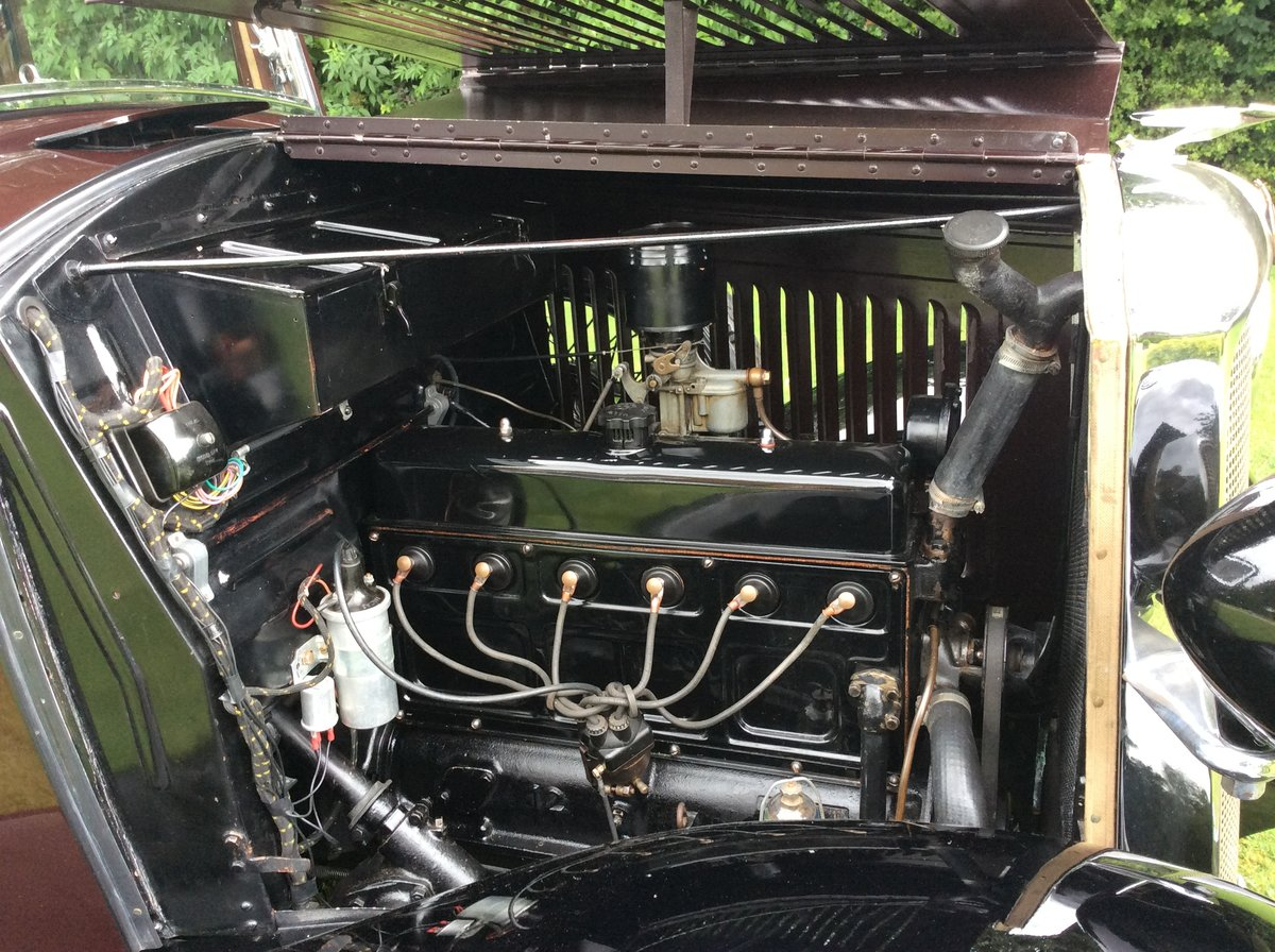 1933 Vauxhall 12/6 ASY STD Saloon For Sale (picture 6 of 6)