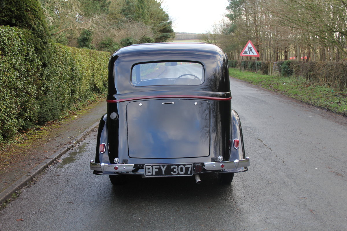 1935 Vauxhall Light Six Saloon De-Luxe 78k miles, superb history For Sale (picture 5 of 21)