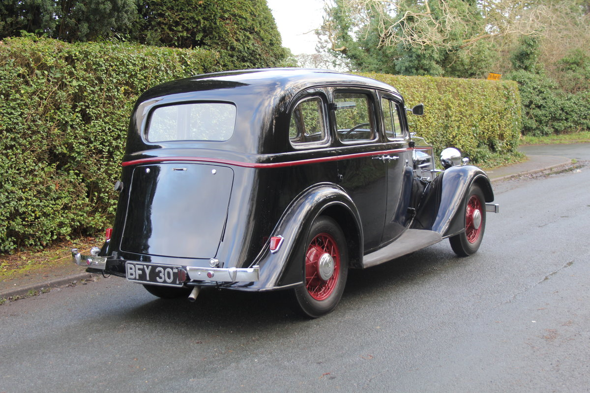 1935 Vauxhall Light Six Saloon De-Luxe 78k miles, superb history For Sale (picture 6 of 21)