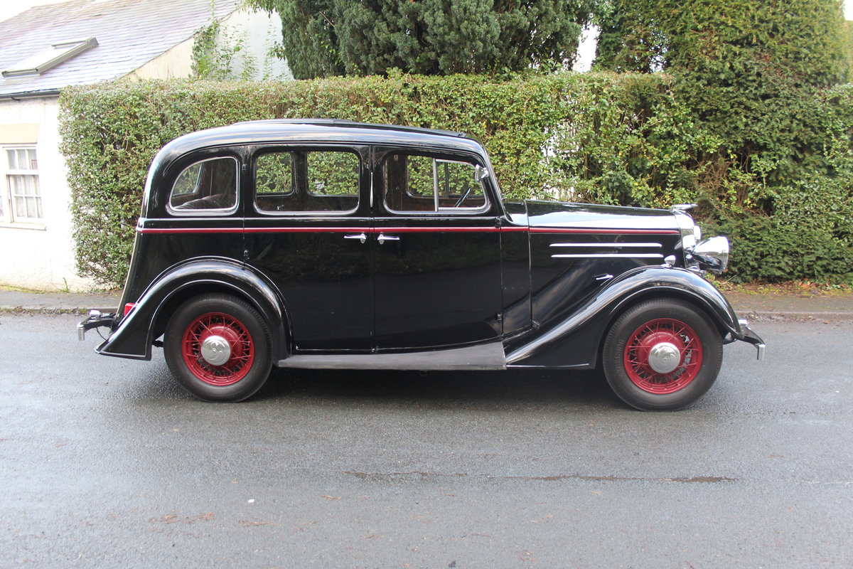 1935 Vauxhall Light Six Saloon De-Luxe 78k miles, superb history For Sale (picture 7 of 21)