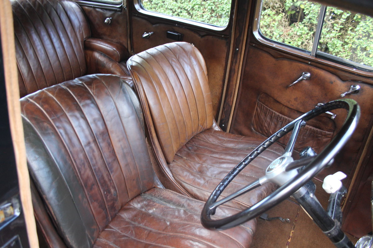 1935 Vauxhall Light Six Saloon De-Luxe 78k miles, superb history For Sale (picture 10 of 21)
