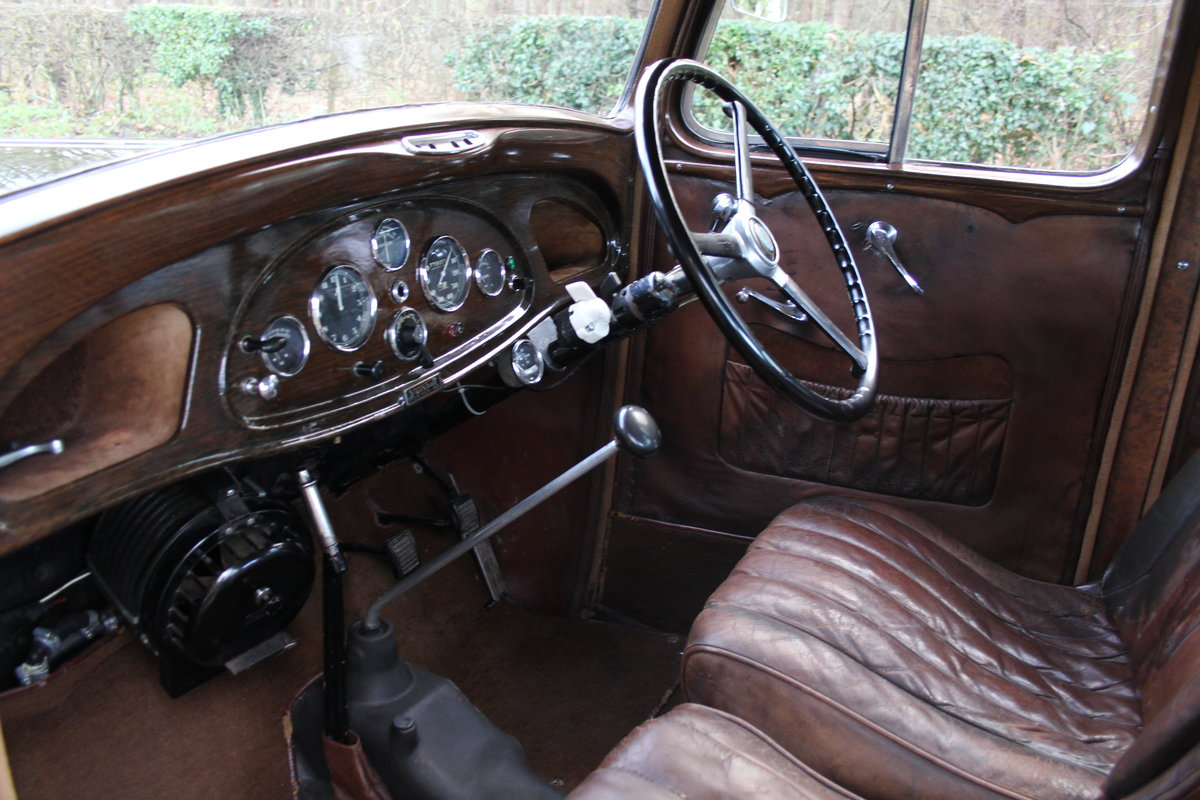 1935 Vauxhall Light Six Saloon De-Luxe 78k miles, superb history For Sale (picture 11 of 21)