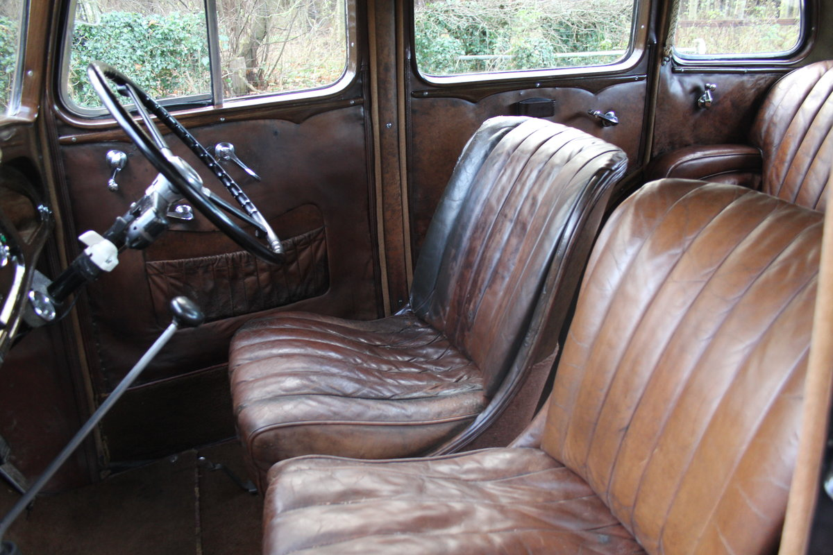 1935 Vauxhall Light Six Saloon De-Luxe 78k miles, superb history For Sale (picture 12 of 21)