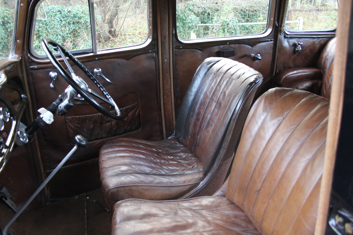 1935 Vauxhall Light Six Saloon De-Luxe 78k miles, superb history For Sale (picture 13 of 21)