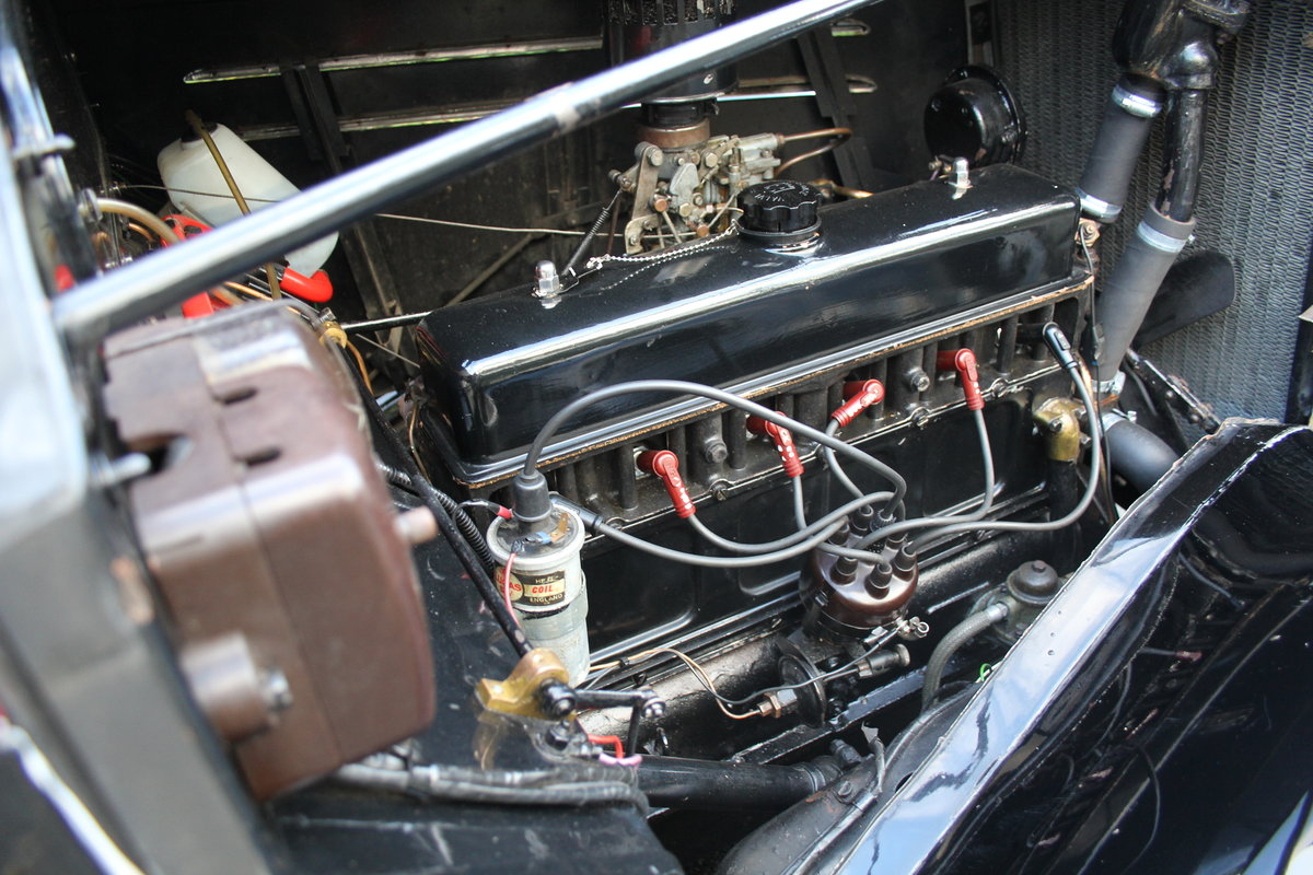 1935 Vauxhall Light Six Saloon De-Luxe 78k miles, superb history For Sale (picture 17 of 21)
