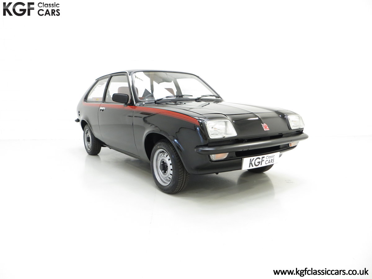 1982 A Limited-Edition Vauxhall Chevette Silhouette 11,967 MIles SOLD (picture 1 of 6)