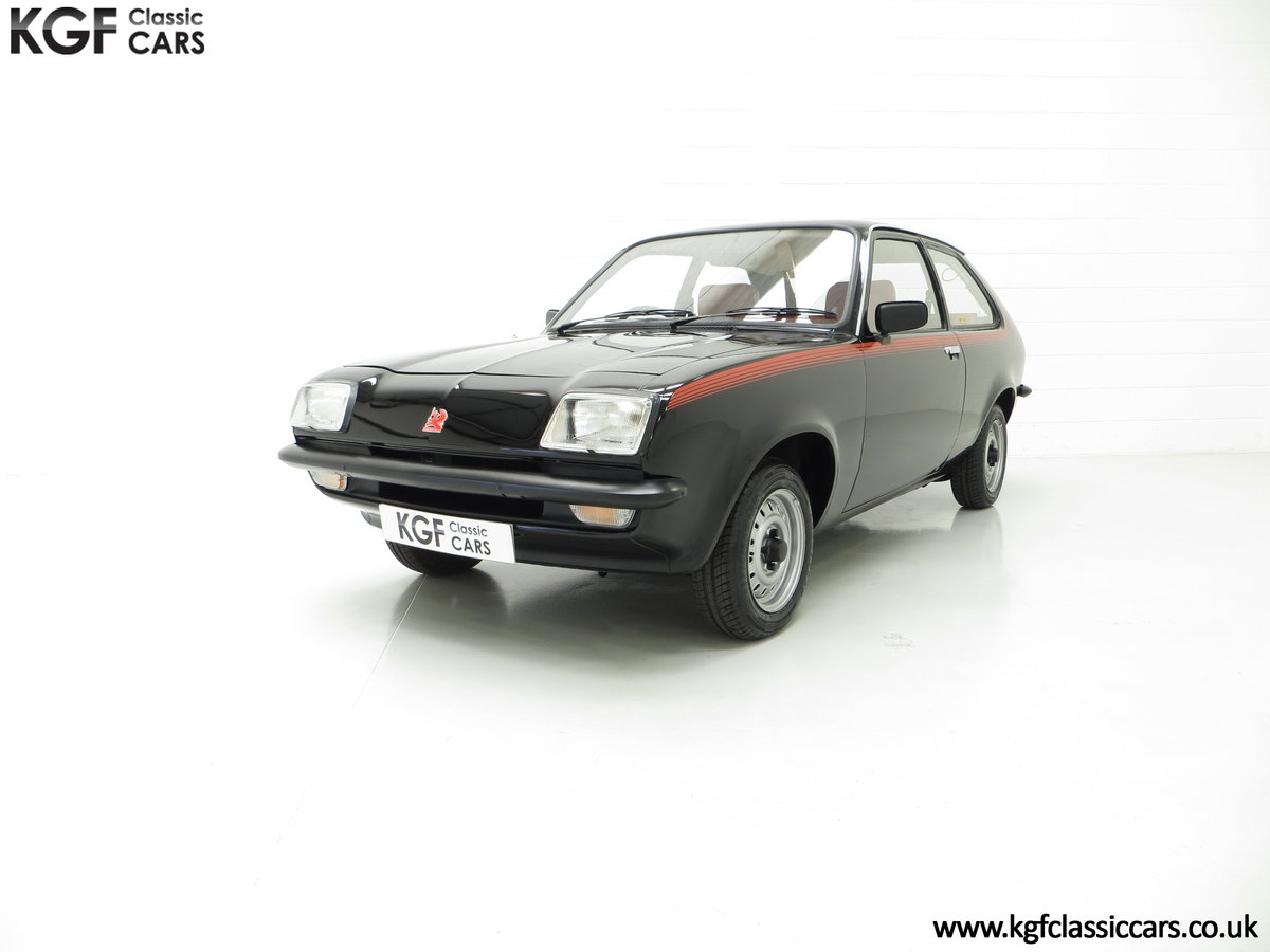 1982 A Limited-Edition Vauxhall Chevette Silhouette 11,967 MIles SOLD (picture 2 of 6)