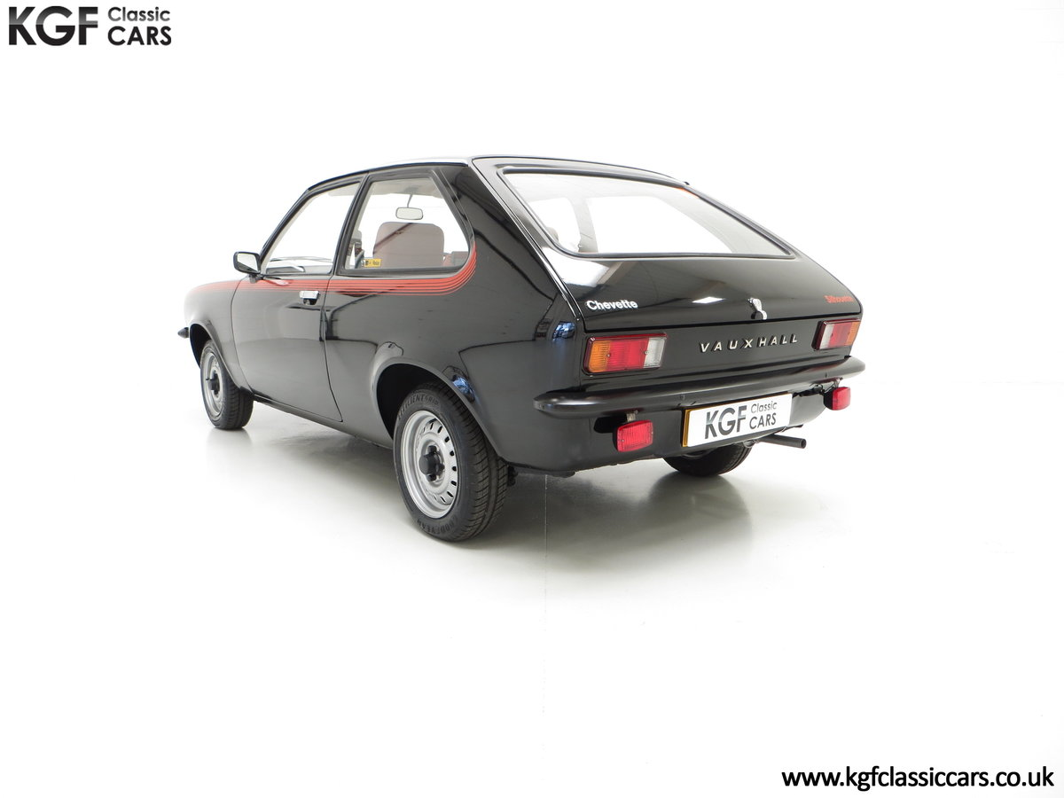 1982 A Limited-Edition Vauxhall Chevette Silhouette 11,967 MIles SOLD (picture 4 of 6)