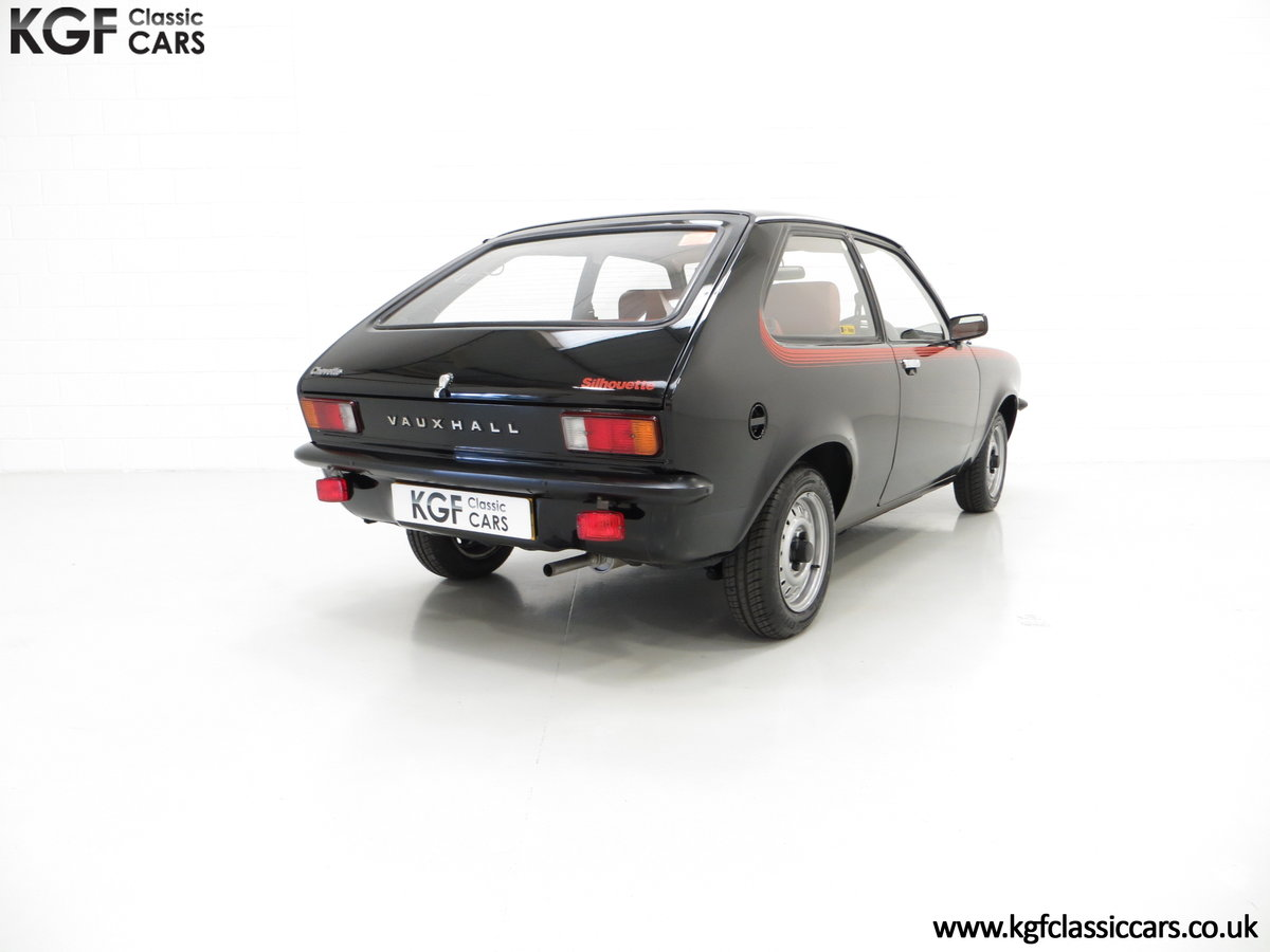 1982 A Limited-Edition Vauxhall Chevette Silhouette 11,967 MIles SOLD (picture 5 of 6)