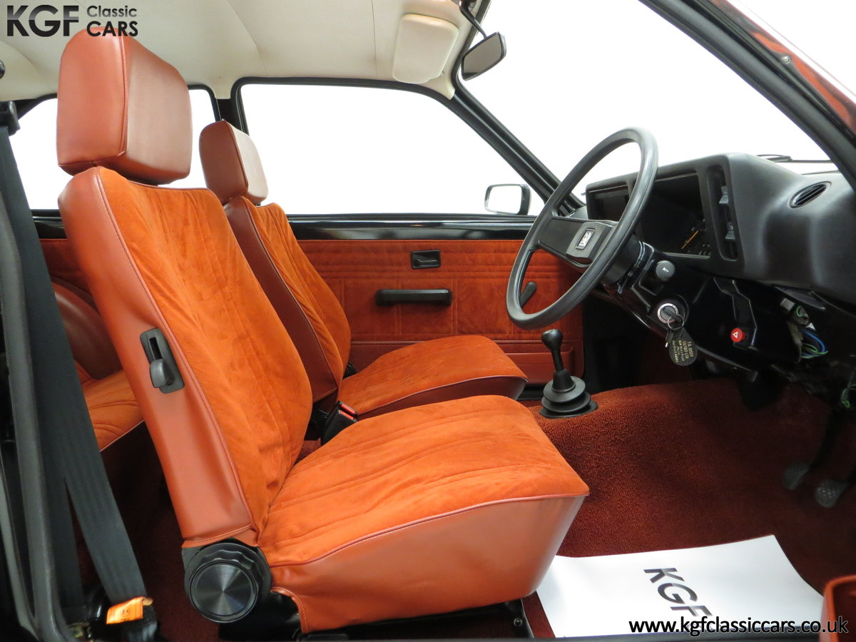 1982 A Limited-Edition Vauxhall Chevette Silhouette 11,967 MIles SOLD (picture 6 of 6)