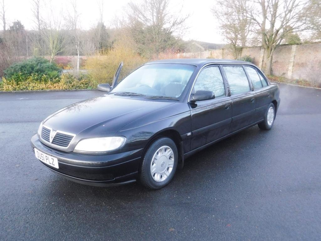 2001 Vauxhall Omega Limousine For Sale by Auction (picture 1 of 1)