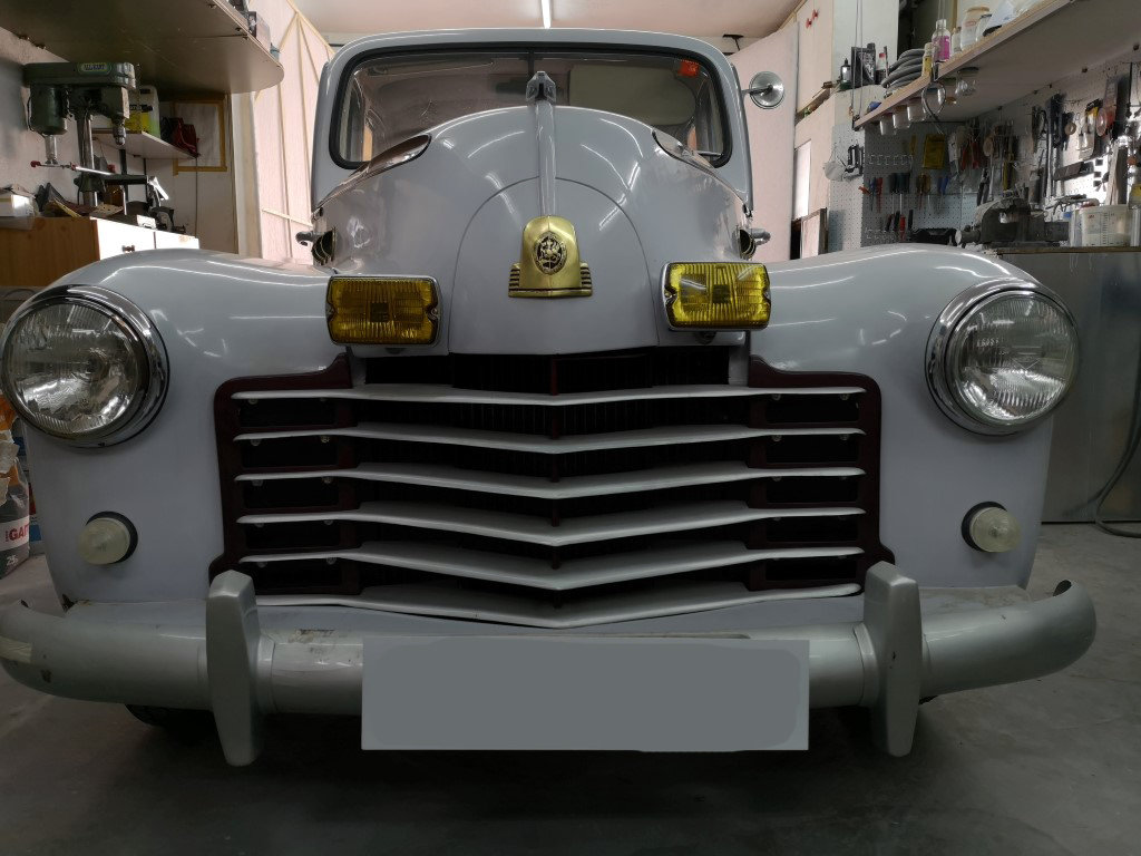 1950 Vauxhall Velox RHD For Sale (picture 1 of 6)