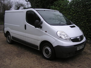 2008 Vauxhall Vivaro 2.0 CDTi 2700 Panel Van For Sale