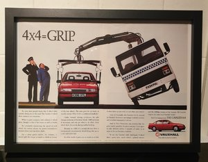 1991 Vauxhall Cavalier 4X4 Advert Original