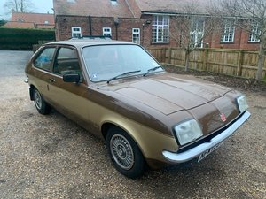 1983 Vauxhall Chevette L H  SOLD by Auction
