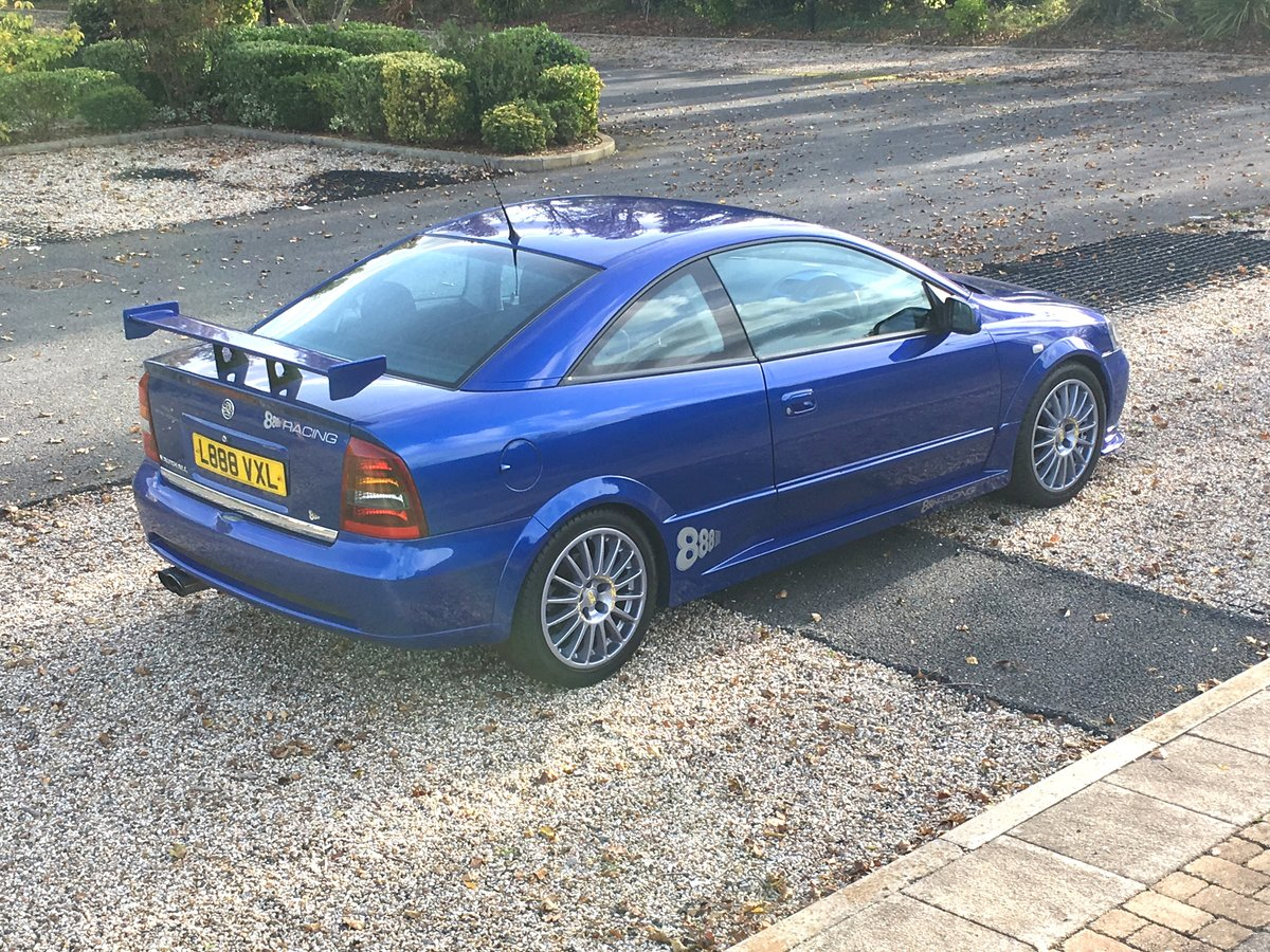 2002 Vauxhall Astra Triple 8 Limited Edition For Sale (picture 2 of 6)