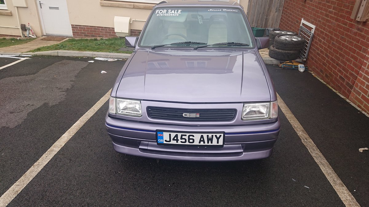 1992 Vauxhall Nova Gsi SOLD (picture 1 of 5)