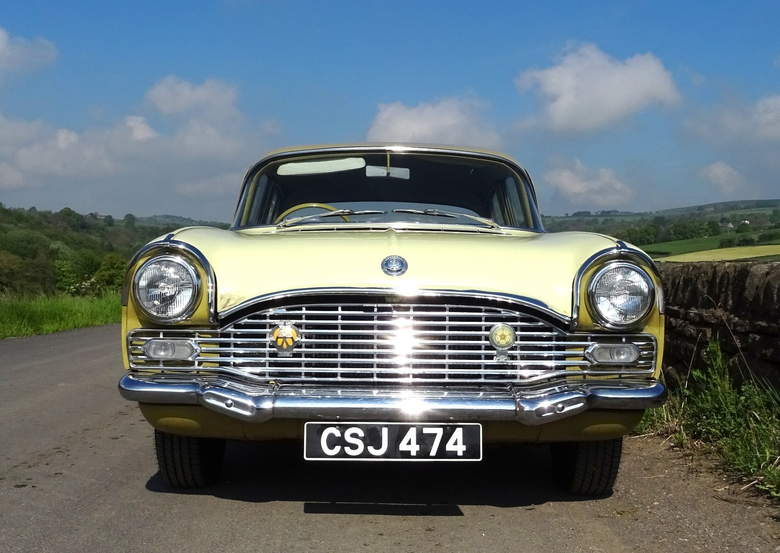 1961 VAUXHALL CRESTA STYLISH CLASSIC RARE COLOUR SCHEME AND SEATS For Sale (picture 3 of 6)