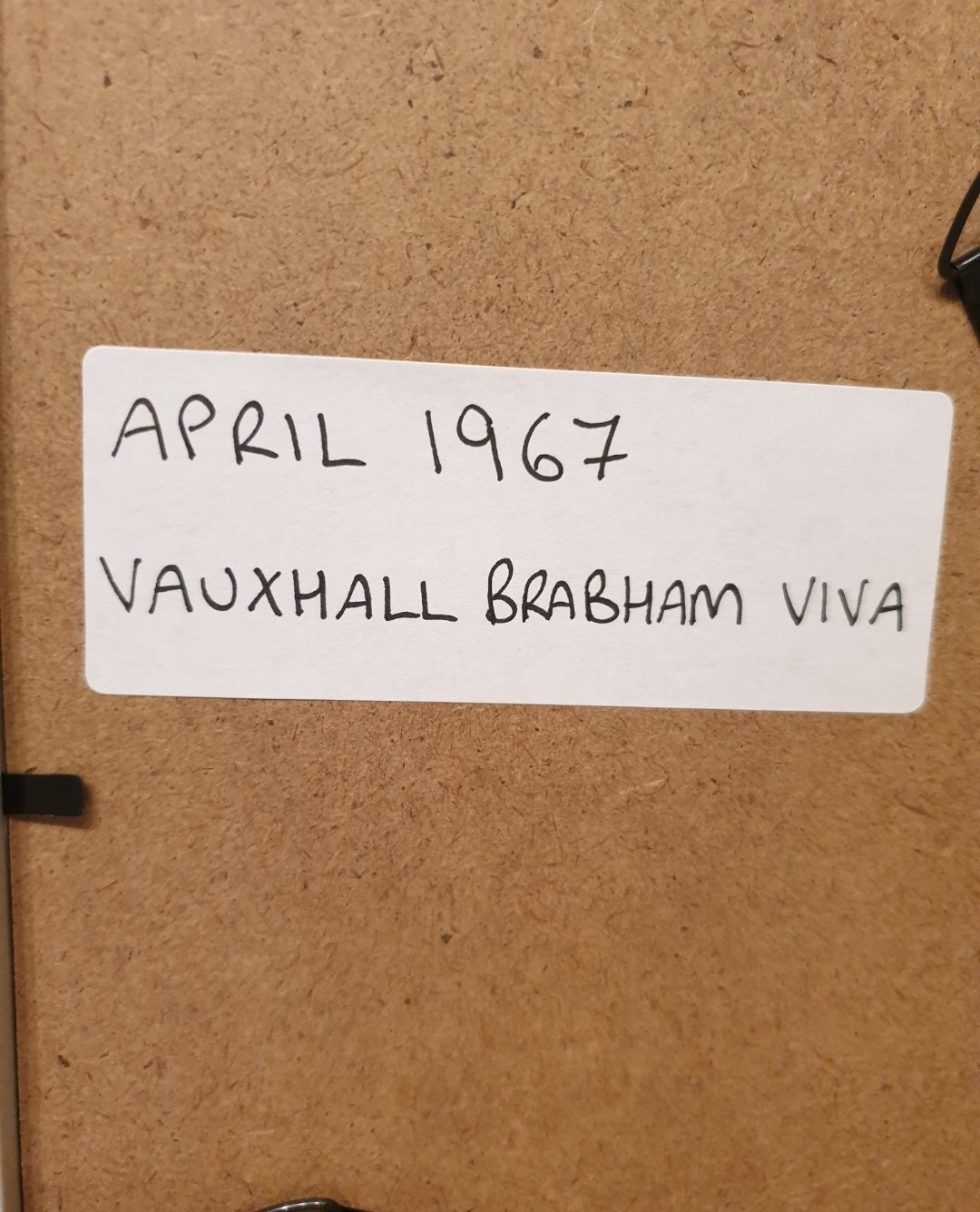 1967 Vauxhall Brabham Viva Advert Original  For Sale (picture 2 of 2)