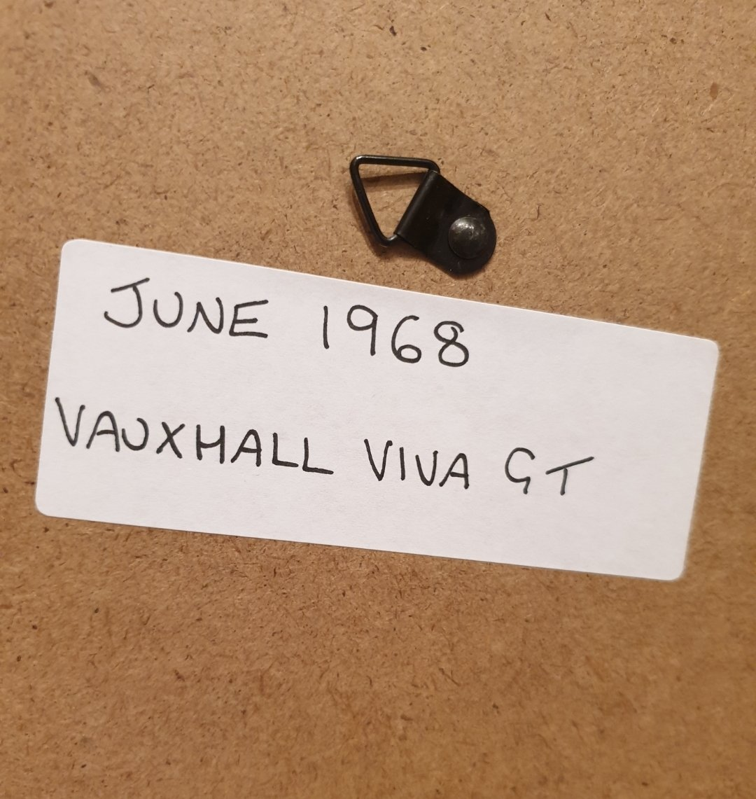 1968 Vauxhall Viva GT Advert Original  For Sale (picture 2 of 2)