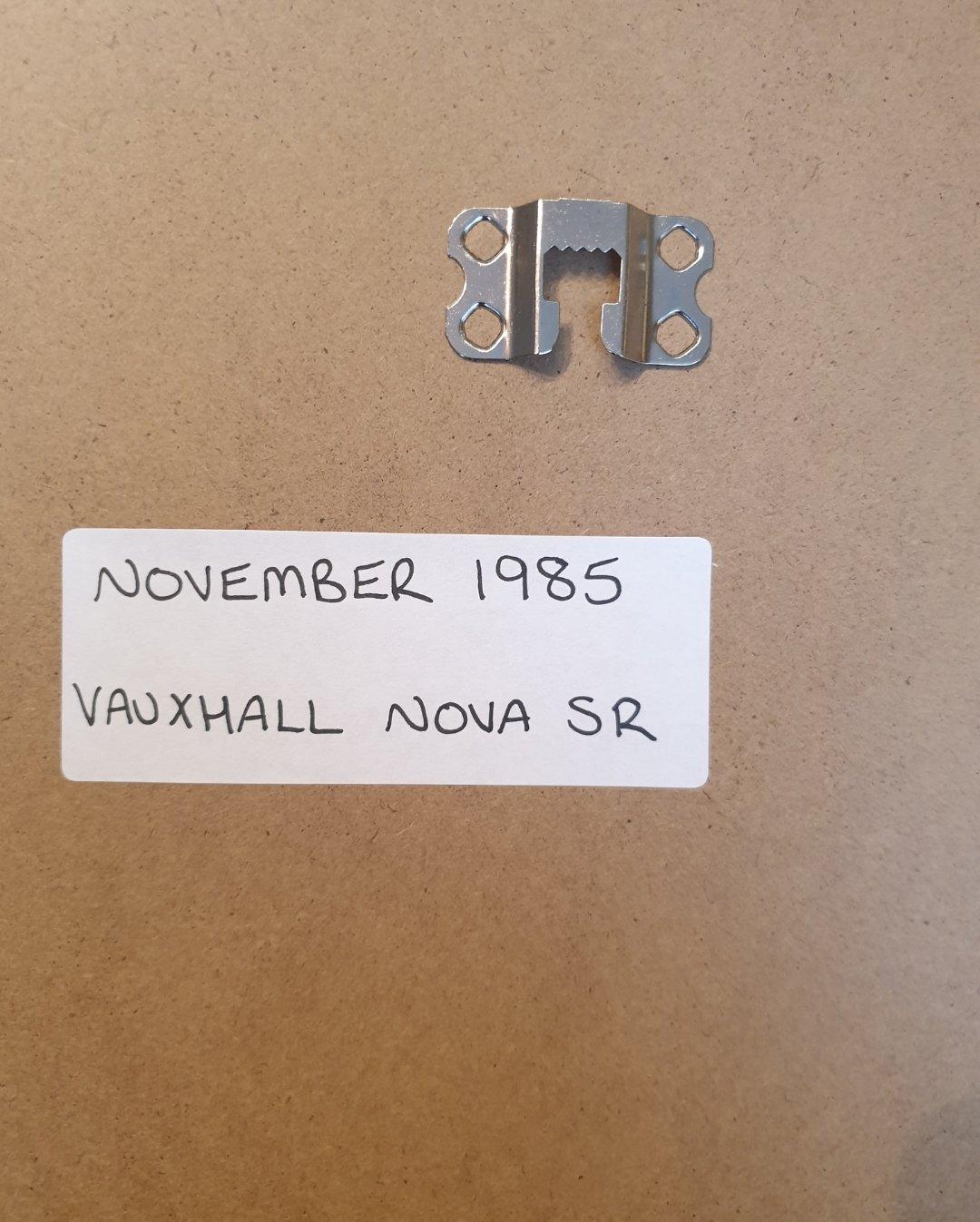 1985 Vauxhall Nova SR Advert Original  For Sale (picture 2 of 2)