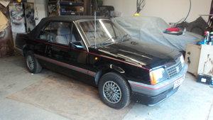 1986 Vauxhall Cavalier Cabriolet 1 owner auto pas 60K For Sale
