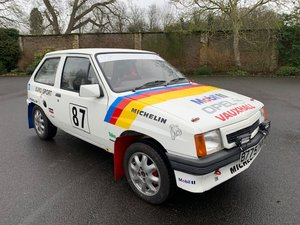 1984 Vauxhall Nova Rally Car SOLD by Auction