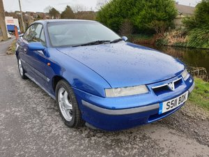 1998 Vauxhall Calibra SE8 in Metallic Blue.
