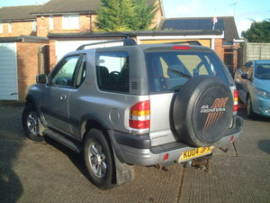 2004 Vauxhall frontera 2.2dti sport manual For Sale