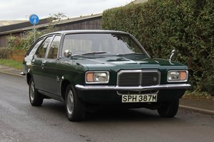 1973 Vauxhall Victor FE 2300 Estate, 45K Miles, Superb History