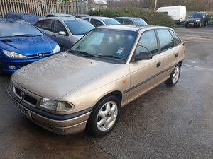 1998 Vauxhall astra 5hb 1.6 manual