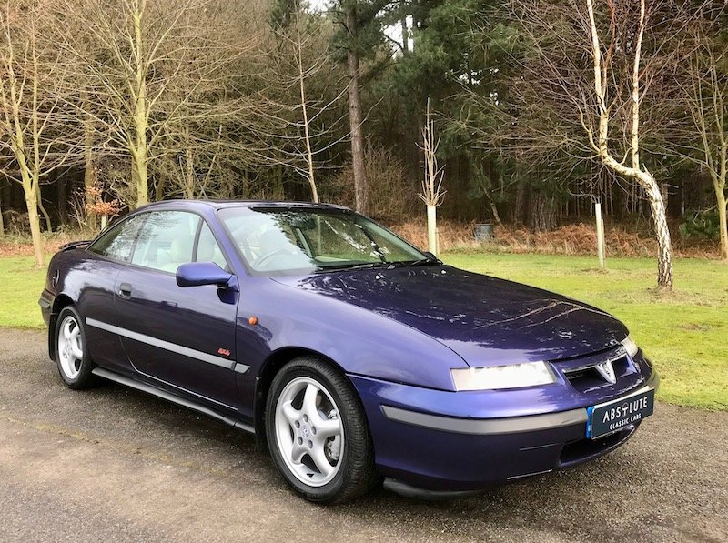 1996 Vauxhall Calibra 4x4 Turbo 16v - Low mileage SOLD (picture 1 of 6)