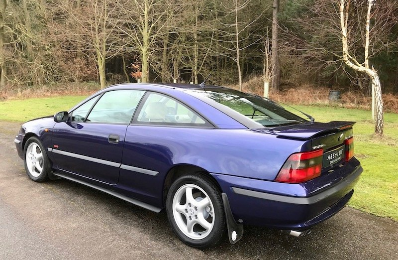 1996 Vauxhall Calibra 4x4 Turbo 16v - Low mileage SOLD (picture 2 of 6)