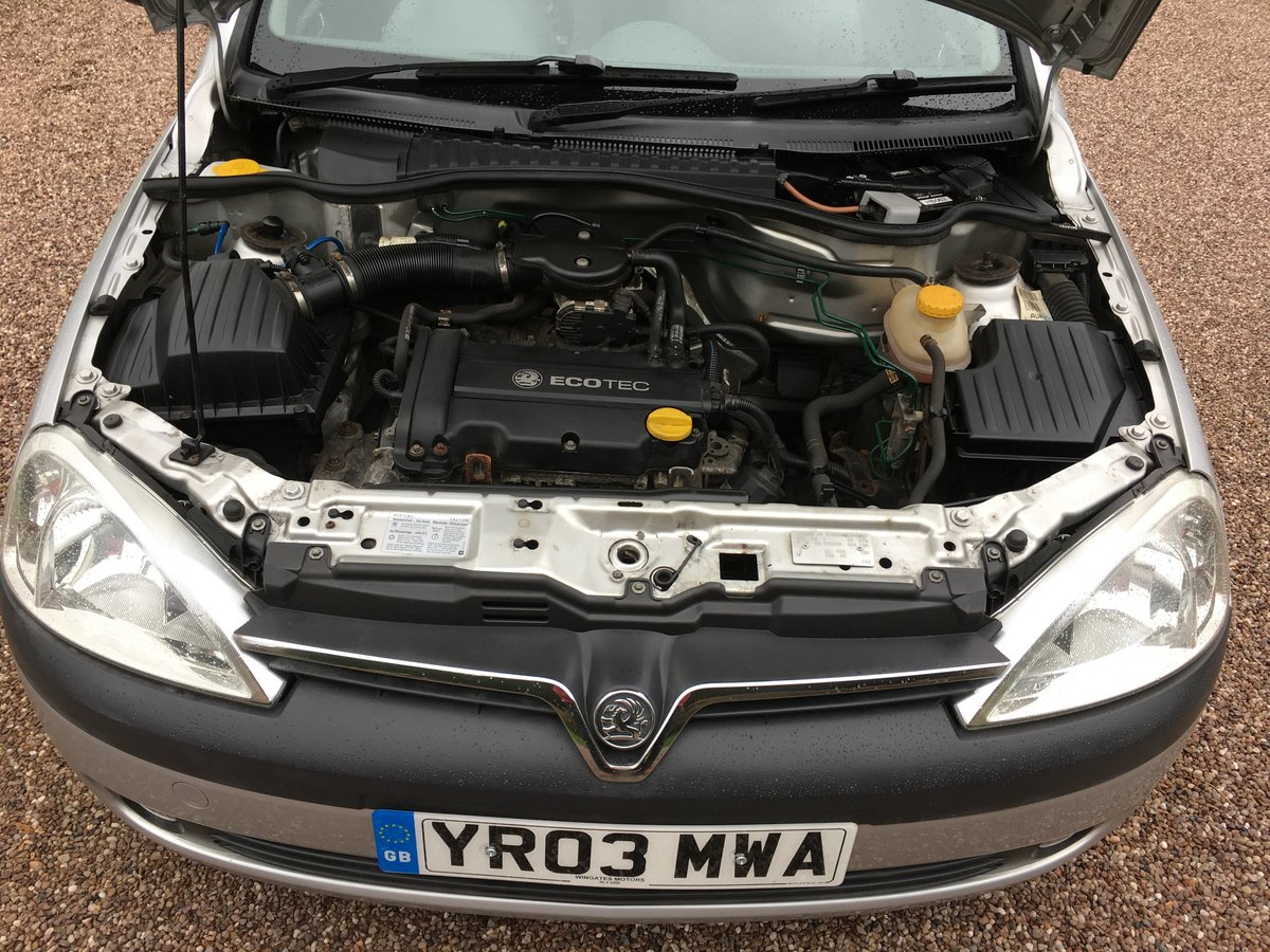 2003 VAUXHALL CORSA 1.2 SXi ONE LADY OWNER LOW MILES FSH For Sale (picture 6 of 6)
